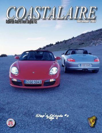 December 2007 - California Central Coast - Porsche Club of America