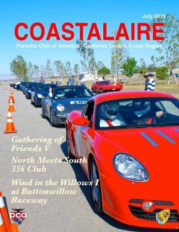 July 2011 - California Central Coast - Porsche Club of America