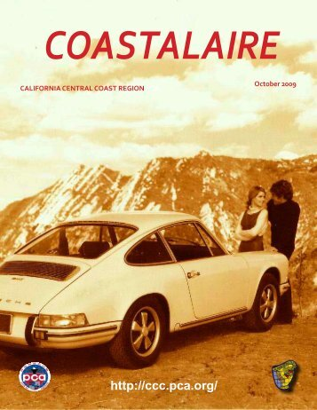 October - California Central Coast - Porsche Club of America