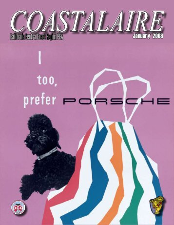 January 2008 - California Central Coast - Porsche Club of America