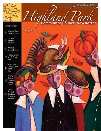 HPCC November 2011 - Highland Park