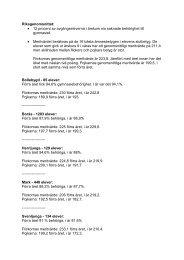 Sjuhärads högstadiebetyg i siffror (pdf) - Sveriges Radio