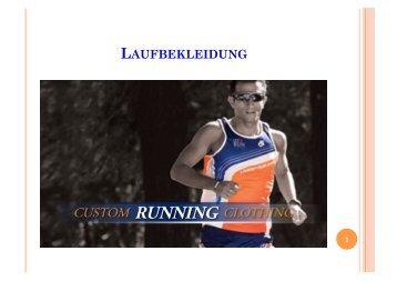 Katalog 2013 Laufbekleidung