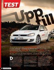 Hämta Teknikens Världs artikel om testet (PDF; 3,7MB) - Volkswagen