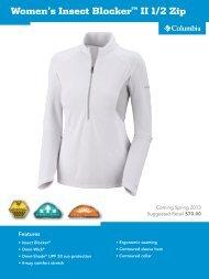 Columbia Sportswear Co. Spring 2013 Press kit - GoExpo