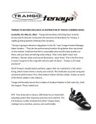 Trango Press Kit - GoExpo