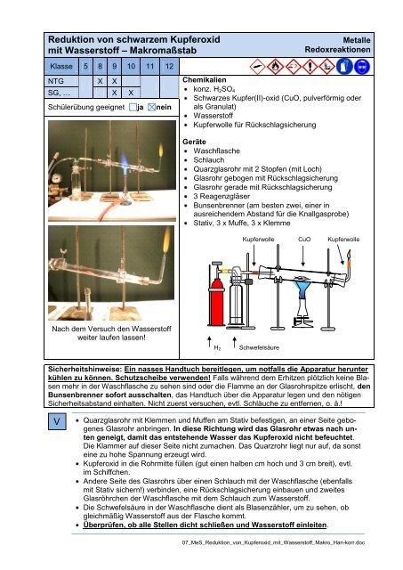 knallgasprobe wasserstoff
