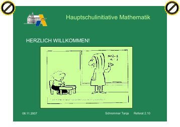 Hauptschulinitiative Mathematik