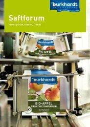Saftforum - Burkhardt Fruchtsäfte GmbH & Co. KG