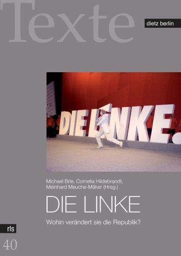Michael Brie, Cornelia Hildebrandt, Meinhard Meuche-Mäker - eDoc