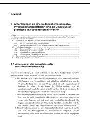 vollständiger Finanzplan (Modul 6)