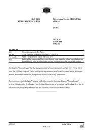 8575/13 - Öffentliches Register der Ratsdokumente - Europa