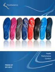 Footbalance Press Kit 2011