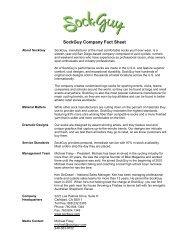 SockGuy Press Kit