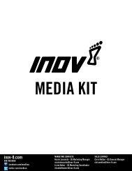 inov-8 Press Kit