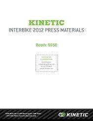 Kinetic 2012 Press Kit - visit site