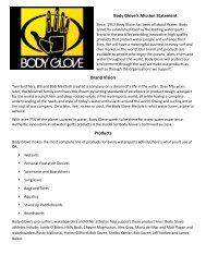 Body Glove 2011