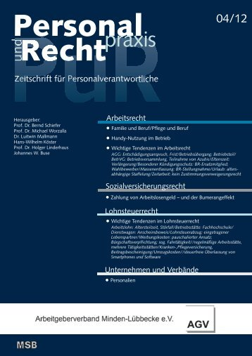 praxis - Arbeitgeberverband Minden-Lübbecke