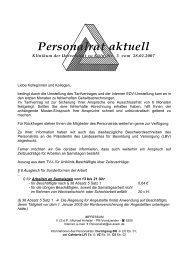 Personalrat aktuell Nr. 3 - Uniklinik Köln