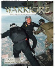 Warrior Fall 2004 - Alaska - Department of Military and Veterans ...