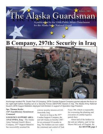 January, 2008 - Alaska - Department of Military and Veterans Affairs