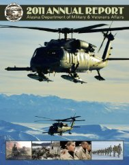 2011 Annual Report - Alaska - Department of Military and Veterans ...