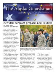 New drill sergeant prepares new Soldiers - Alaska - Department of ...
