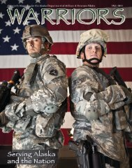 Warriors - Alaska - Department of Military and Veterans Affairs ...