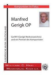 Manfred Gerigk OP
