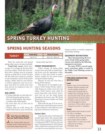2013 nj wild turkey hunting season information division for Ky dept fish and wildlife