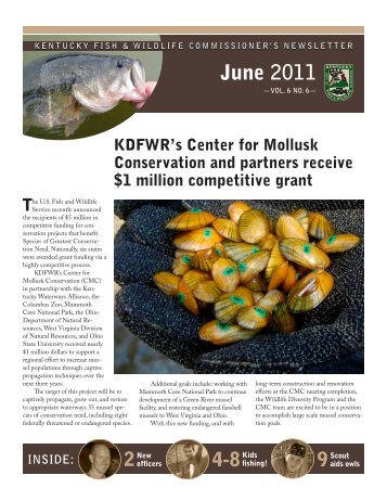 June 2011 - Kentucky Department of Fish and Wildlife Resources
