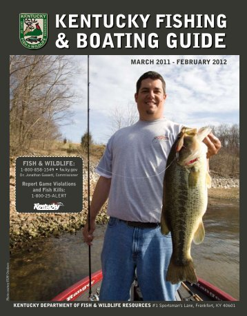& BOATING GUIDE - Kentucky Department of Fish and Wildlife ...