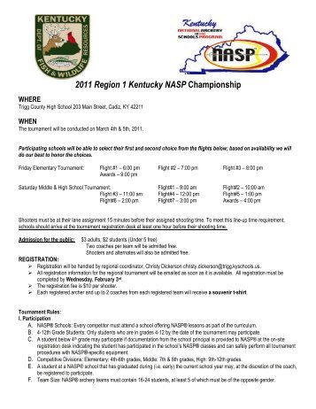 2011 Region 1 Kentucky NASP Championship