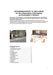 Bygherrerapport LFS 195 Klostergade 2 Nakskov