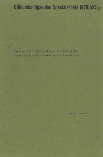 1978 nr 105.pdf - BADA - Högskolan i Borås