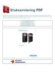 Instruktionsbok PHILIPS AW7297 - BRUKSANVISNING PDF ...