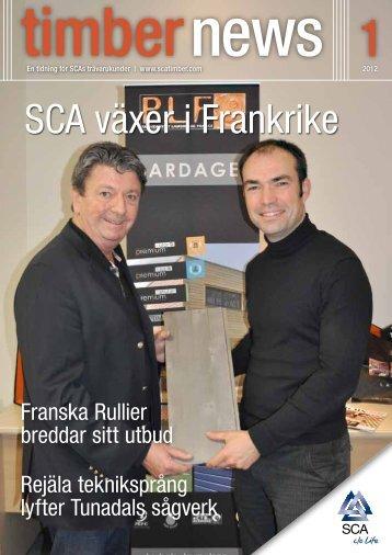 SCA växer i Frankrike
