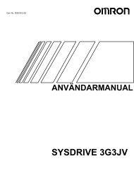 3G3JV Användarhandbok