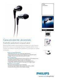 SHE9850/00 Philips Oortelefoon - Icecat.biz
