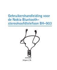 stereohoofdtelefoon BH-903 - Nokia