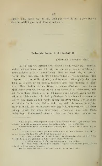 Från Tredje Gustafs dagar