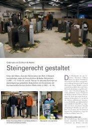 Steingerecht gestaltet - Josef Anton Natursteine GmbH