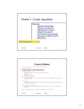 Module 3 - Graph Algorithms - Crystal