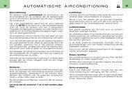 AUTOMATISCHE AIRCONDITIONING