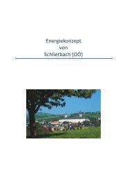 Energiebericht - Langversion - Gemeinde Schlierbach