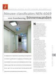 Nieuwe classificaties NEN 6069 - Glas in Beeld