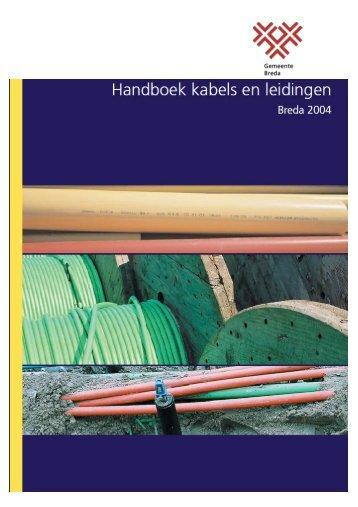 Handboek kabels en leidingen
