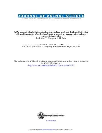 Link to full text (.pdf) - Hans H. Stein - University of Illinois at Urbana ...
