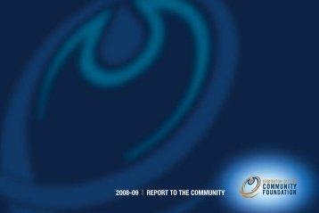 2008-09 REPORT TO THE COMMUNITY - Edmonton Oilers