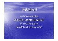 Welcome!!! WASTE MANAGEMENT - Arnika